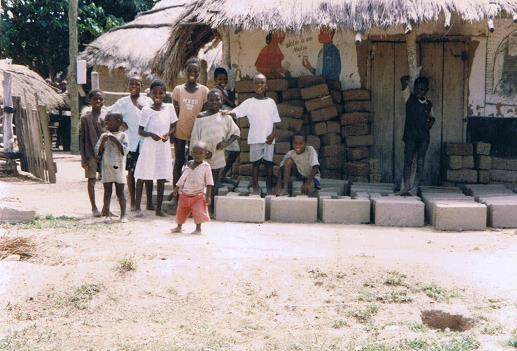Children showing stunted growth