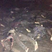 Burnt bodies from blast 2