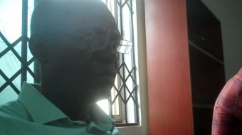 Kwadwo Ofosu at the end of March 2012 meeting of CVSI, PALMS and MOFIL.